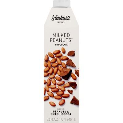 Non-Dairy Milks: Elmhurst Milked