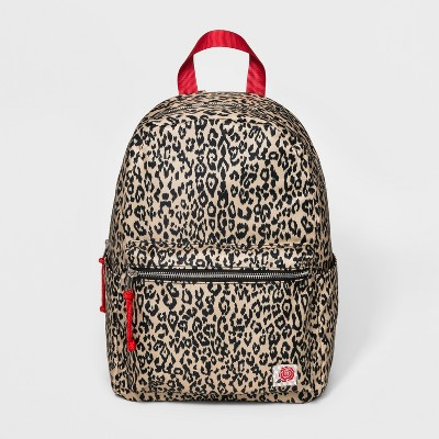 3e80223f7b15 Womens Leopard Print Dome Backpack – Wild Fable™ Brown – Target ...