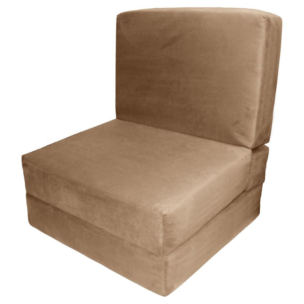 Nomad Flip Chair Child-size Sleeper Bed Khaki (Green) - Epic Furnishings