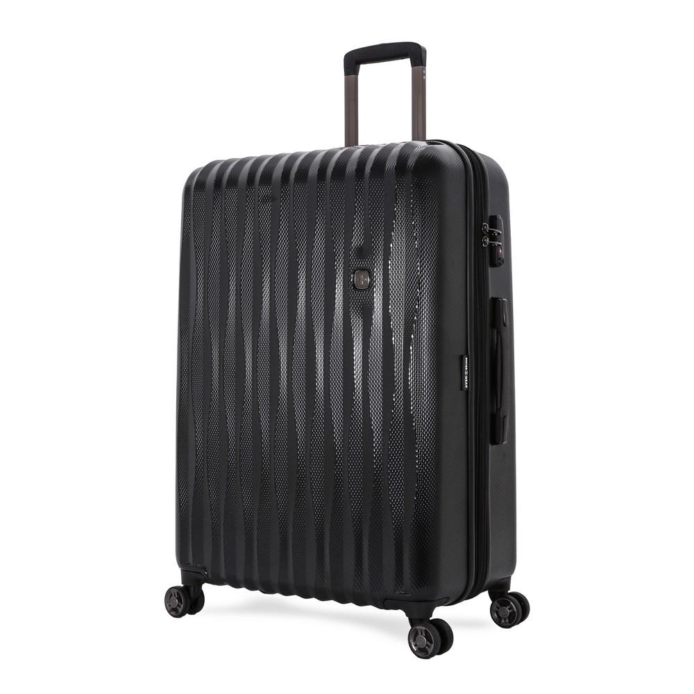 Swissgear Energie Polycarb Hardside 28 34 Spinner Suitcase Black