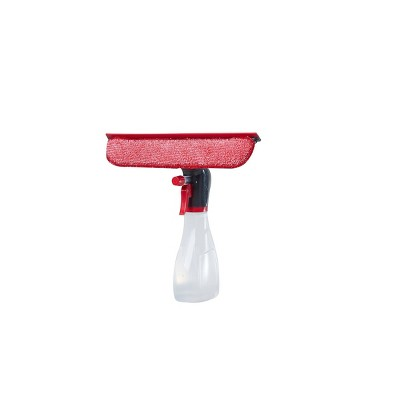 Rubbermaid Spray Bottle with Microfiber Pad and Squeegee