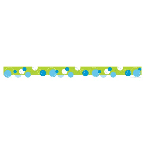 Barker Creek® Bulletin Board Border - Calm Dot - image 1 of 2