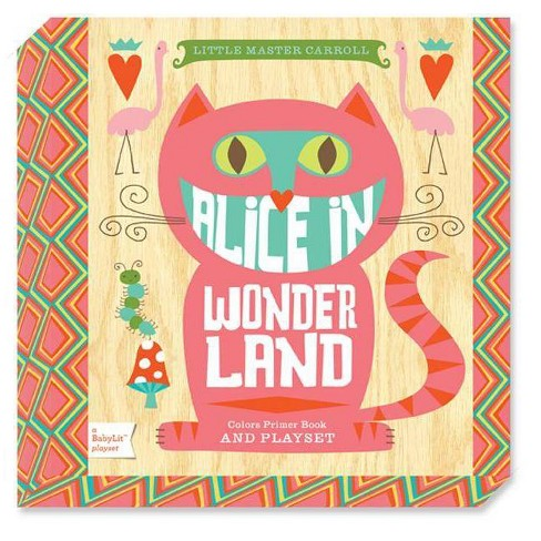 Alice in Wonderland: A Babylit(r) Colors Primer Board Book and Playset - (BabyLit Playset) - image 1 of 1