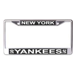 MLB New York Yankees Metal License Plate Frame