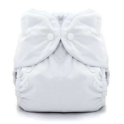 Thirsties Snap Duo Wrap - White Size One