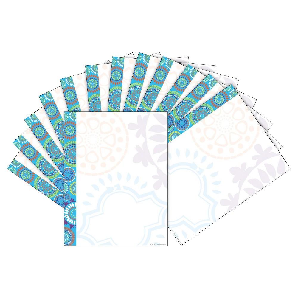Barker Creek 2pk Printer Paper 100ct Moroccan Tiles