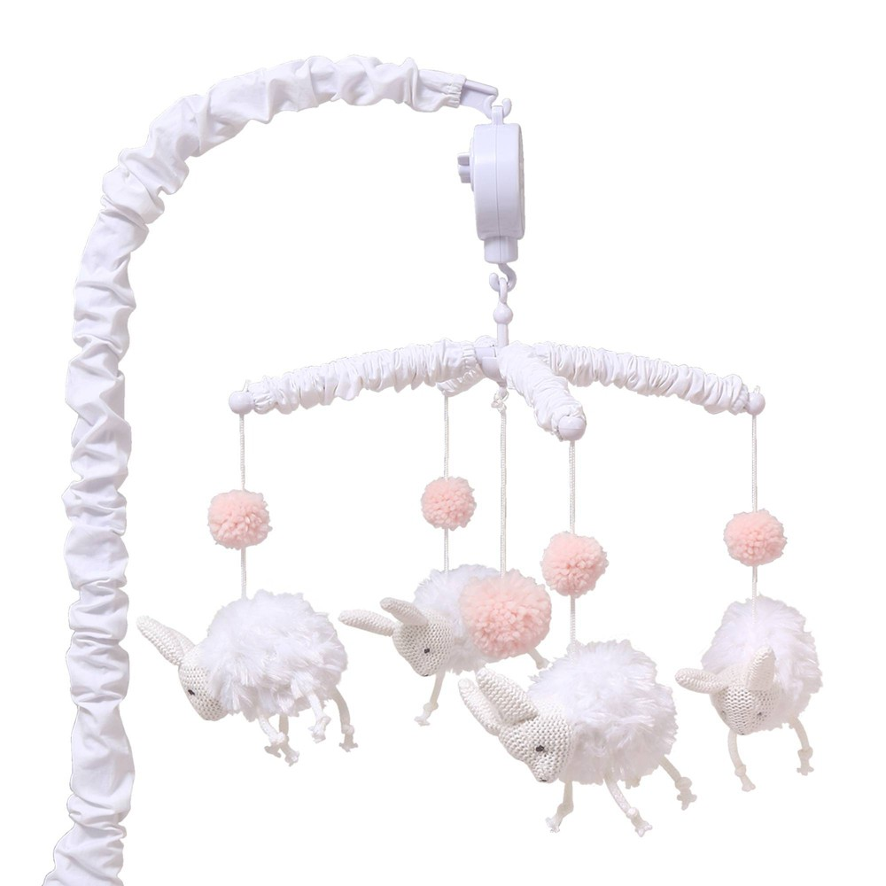 Image of Farmhouse Musical Mobile - Bunny by The Peanutshell
