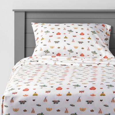 Butterfly Microfiber Sheet Set - Pillowfort™