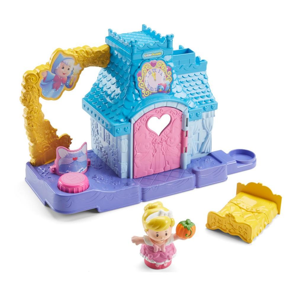 Fisher-Price Little People Disney Princess Cinderella's Helpful Friends Home