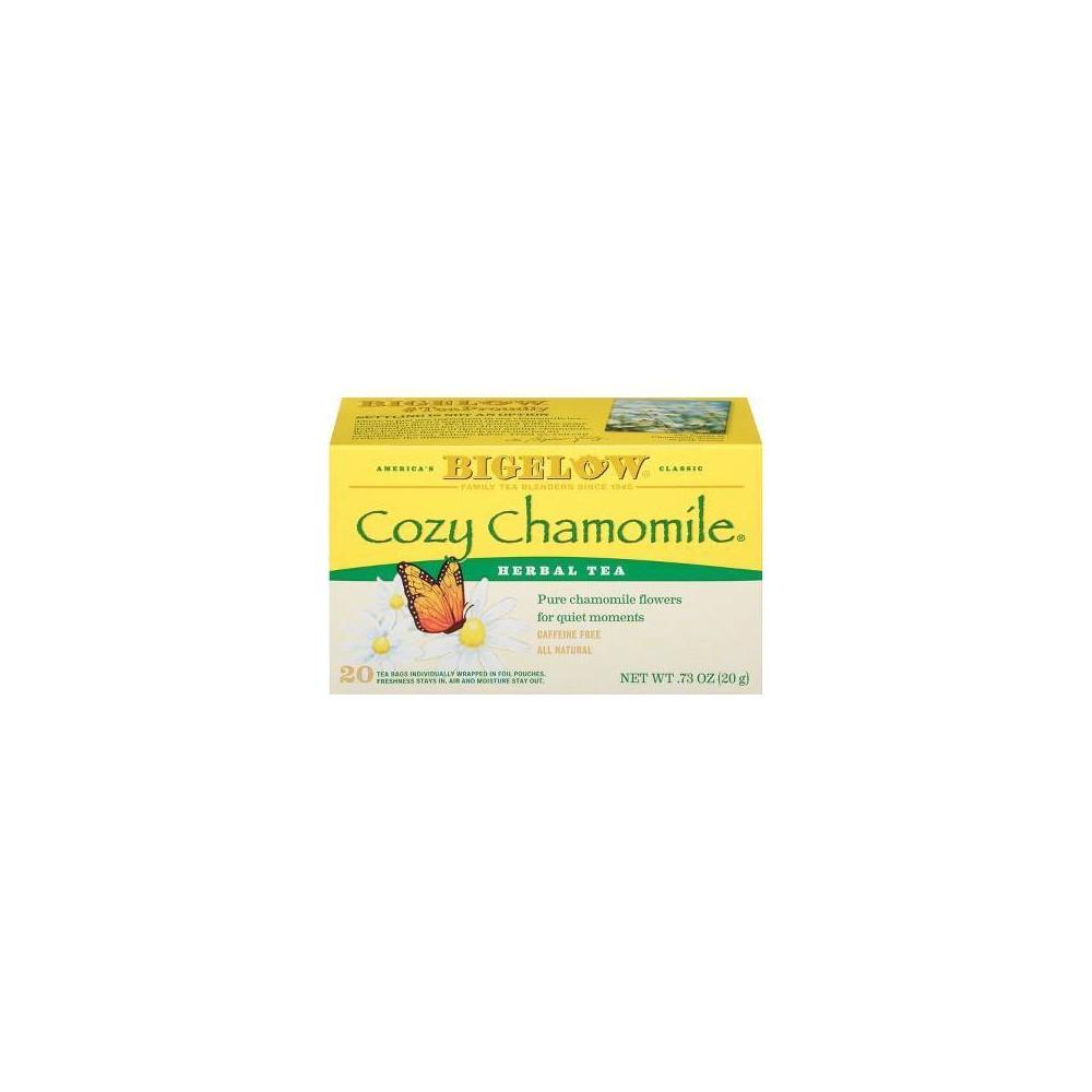 Bigelow Cozy Chamomile Herbal Tea - 20ct
