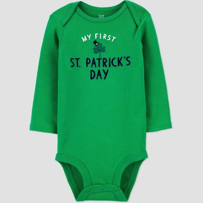 Baby 'My First St. Patrick's Day' Bodysuit - Just One You® made by carter's Green 3M