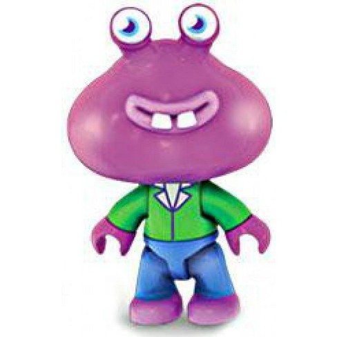 Mega Bloks Moshi Monsters Purple Guy with Green Shirt Minifigure [Loose] - image 1 of 1