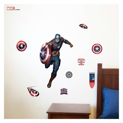 Captain America Wall Decal