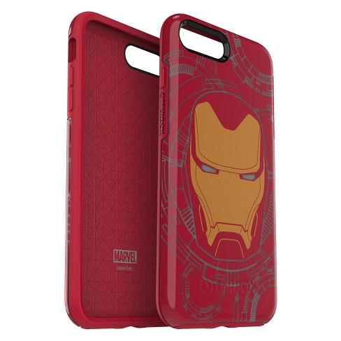 buy online 4e66b 738ea OtterBox Apple iPhone 8 Plus/7 Plus Marvel Symmetry Case - Iron Man