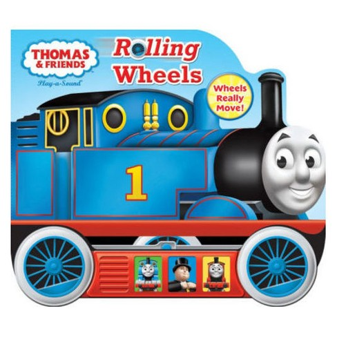 THOMAS AND FRIENDS ROLLING WHEELS (Board Book) - image 1 of 1