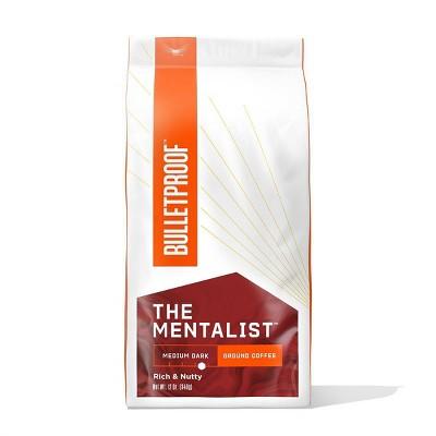 Bulletproof Mentalist Medium Dark Roast Ground Coffee -12oz