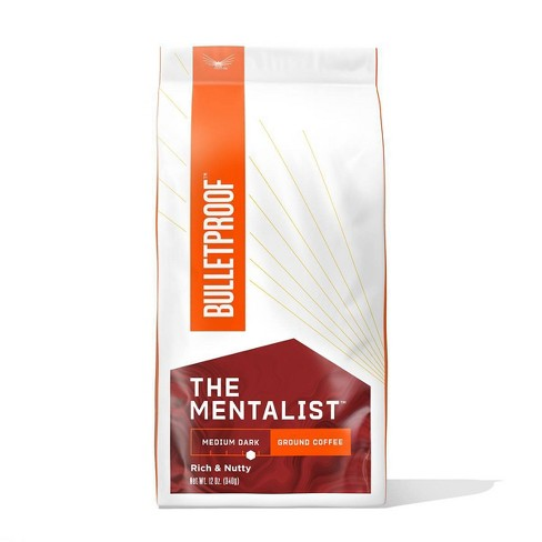 Bulletproof Mentalist Medium Dark Roast Ground Coffee -12oz - image 1 of 4