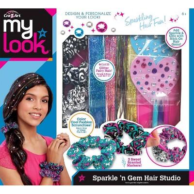 Cra-Z Art My Look Sparkle 'n Gem Hair Studio