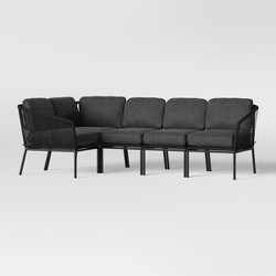 Standish Patio Sectional Charcoal - Project 62™
