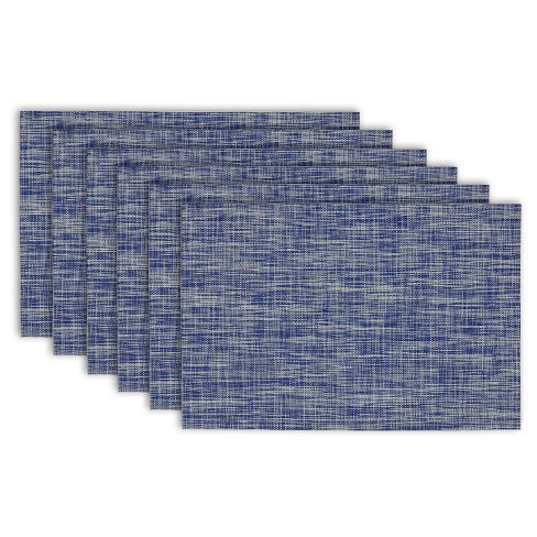 "6pk Blue Placemat (13""x19"") - Design Imports - image 1 of 1"