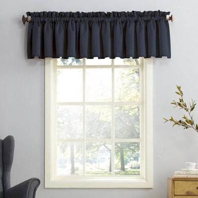 "54""x18"" Seymour Energy Efficient Rod Pocket Curtain Valance - Sun Zero"