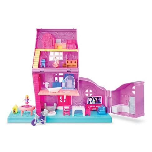 Polly Pocket Pollyville Polly's Pocket House - image 1 of 4
