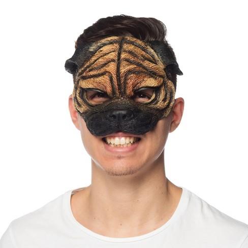 HMS Supersoft Pug Adult Costume Mask - image 1 of 1