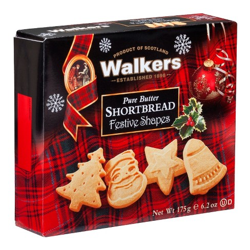 Walker S Shortbread Festive Cookies 6 2oz