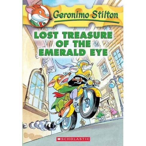 Lost Treasure of the Emerald Eye - (Geronimo Stilton) by  Geronimo Stilton (Hardcover) - image 1 of 1