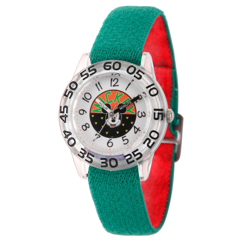 Boys' Disney Mickey Mouse Watch - Green