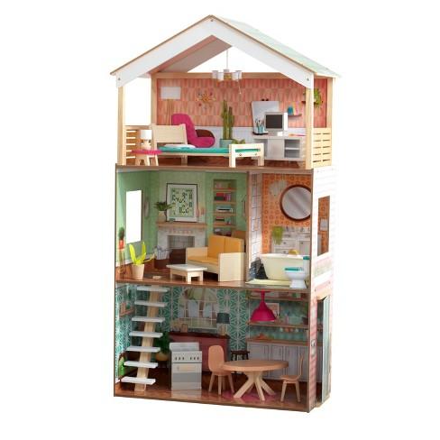 KidKraft Vintage Luxe Dottie Dollhouse - image 1 of 4