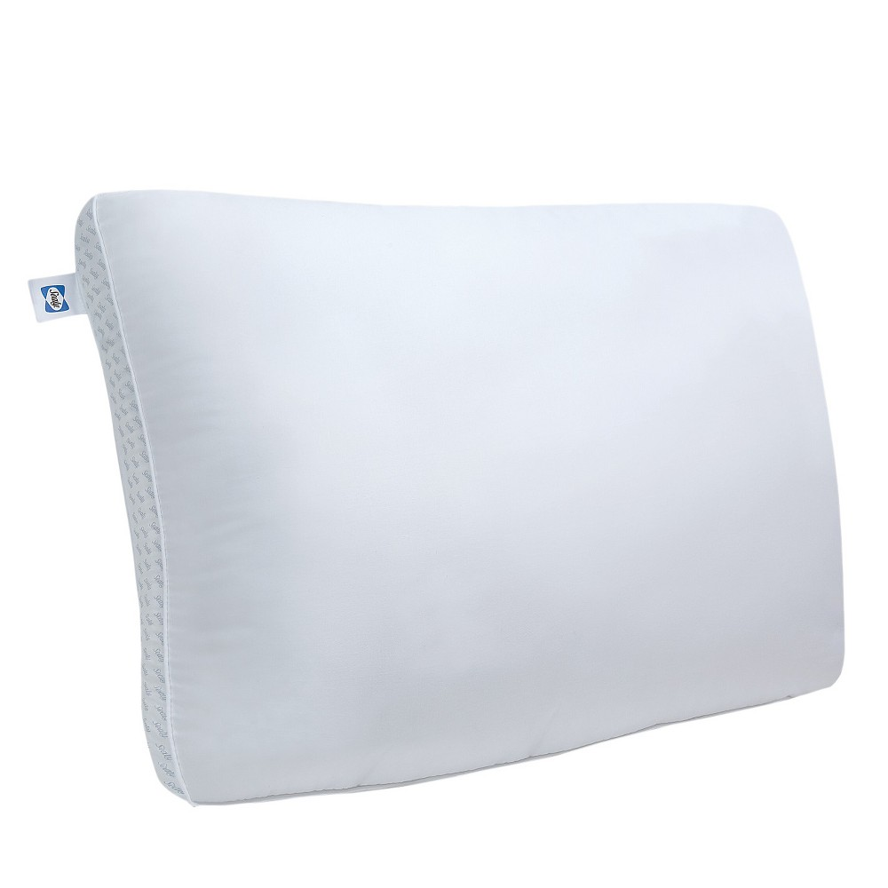 Sealy Memory Foam Bed Pillow (Standard), White