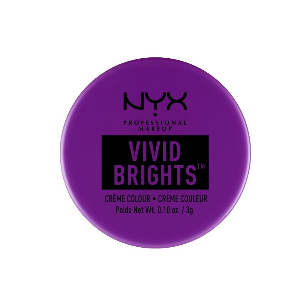 Nyx Professional Makeup Vivid Brights Crème Colour Rebellious Edge - 0.10oz