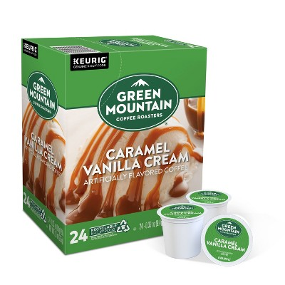 Green Mountain Caramel Vanilla Light Roast Coffee - Keurig K-Cup Pods - 24ct