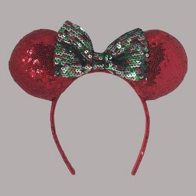 Girls' Disney Minnie Mouse Christmas Minnie Ears Headband