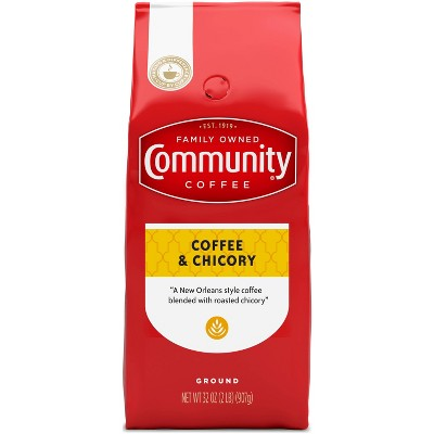 Community Coffee & Chicory Medium Roast Ground Coffee - 32oz