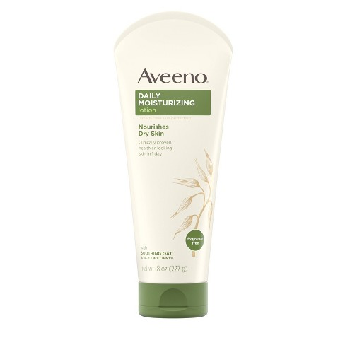 Unscented Aveeno Daily Moisturizing Lotion To Relieve Dry Skin - 8 fl oz - image 1 of 4