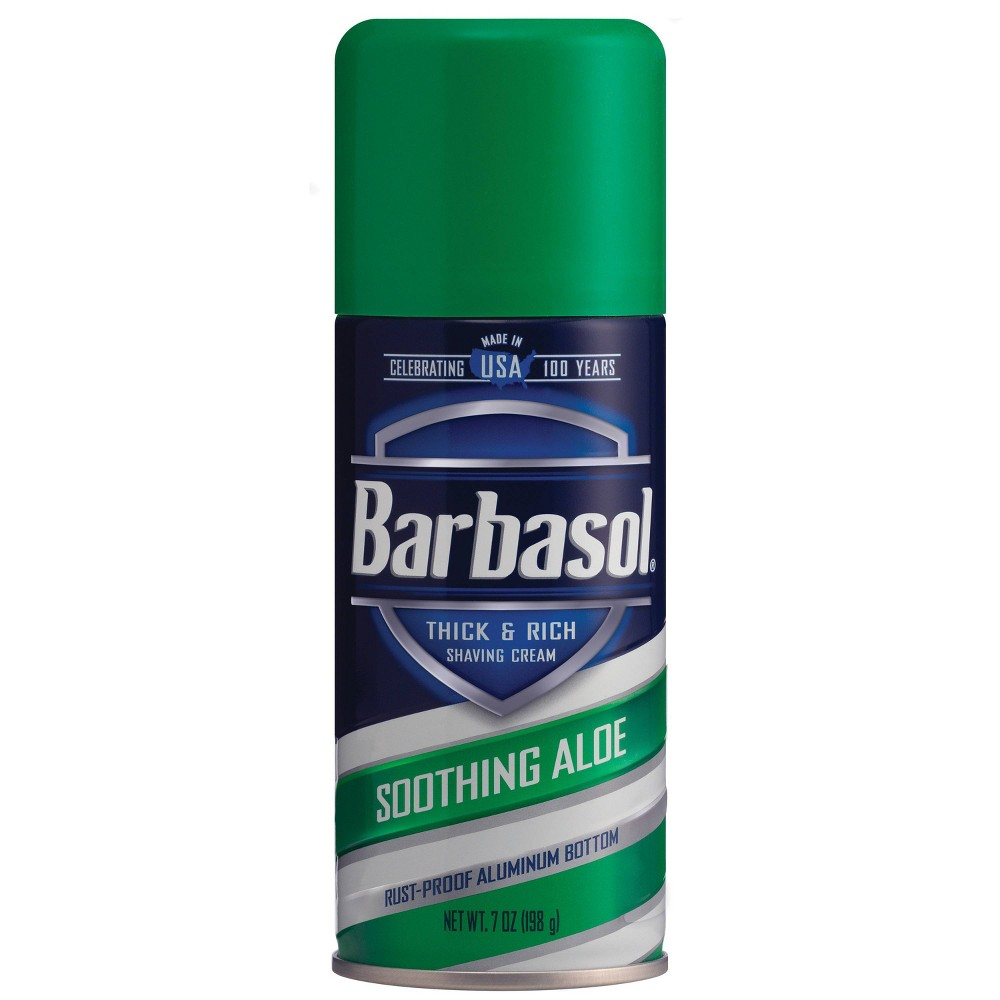 Image of Barbasol Soothing Aloe Thick & Rich Shave Cream - 7oz