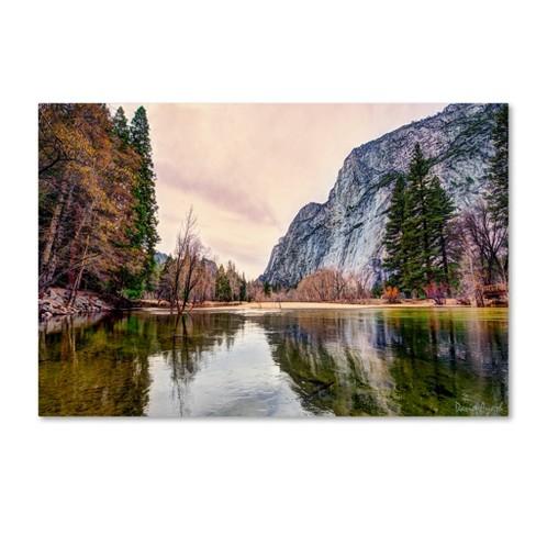 "Trademark Fine Art 47"" X 30"" David Ayash 'Yosemite Valley' Canvas Art - image 1 of 3"