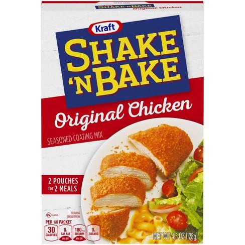 Shake 'N Bake Original Chicken Seasoned Coating Mix - 4.5oz - image 1 of 4