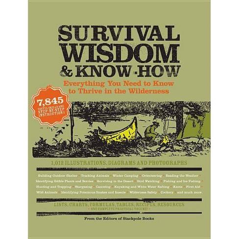 Survival Wisdom & Know How - (Wisdom & Know-How) (Paperback) - image 1 of 1