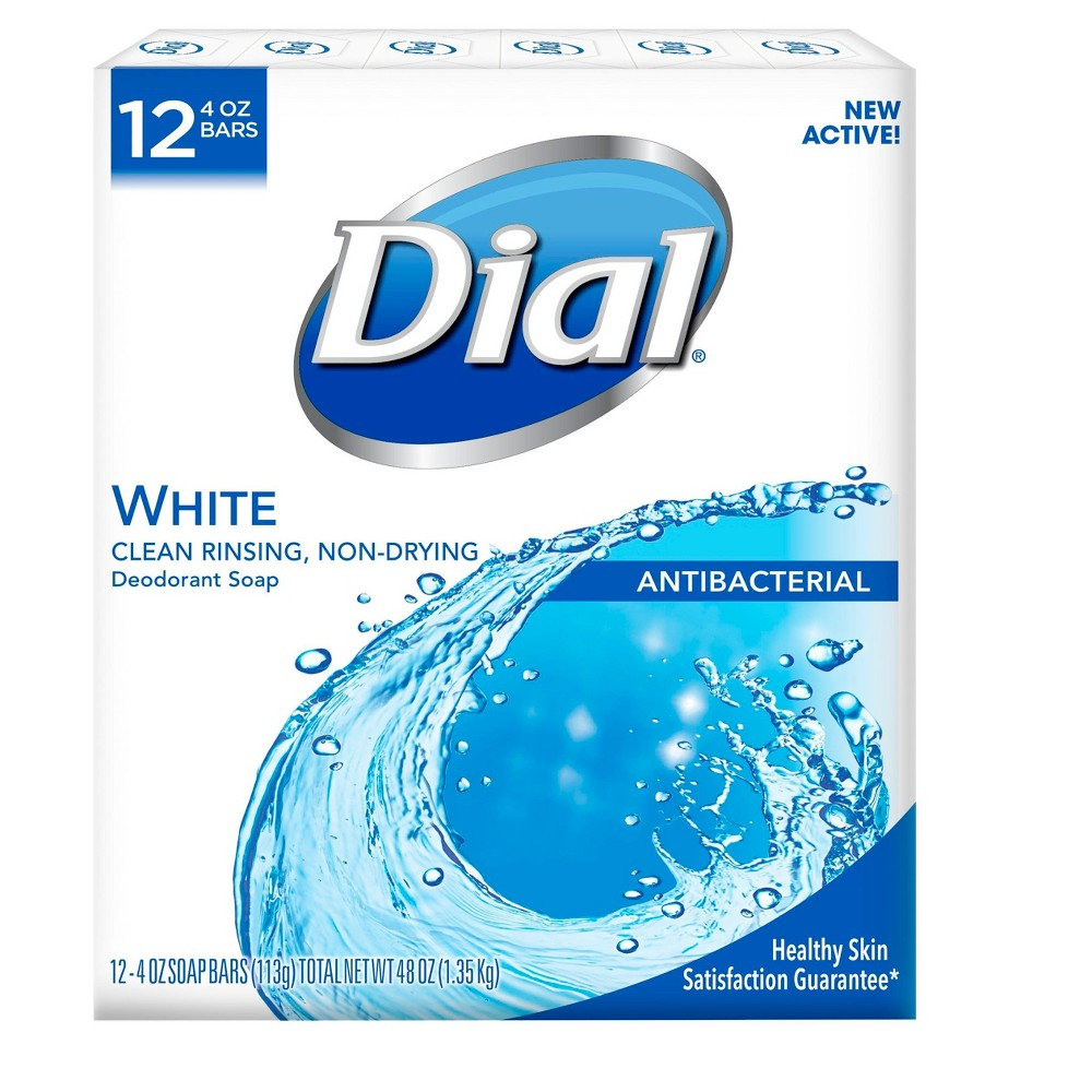 Image of Dial Clean and Refresh White Bar Soap - 12ct