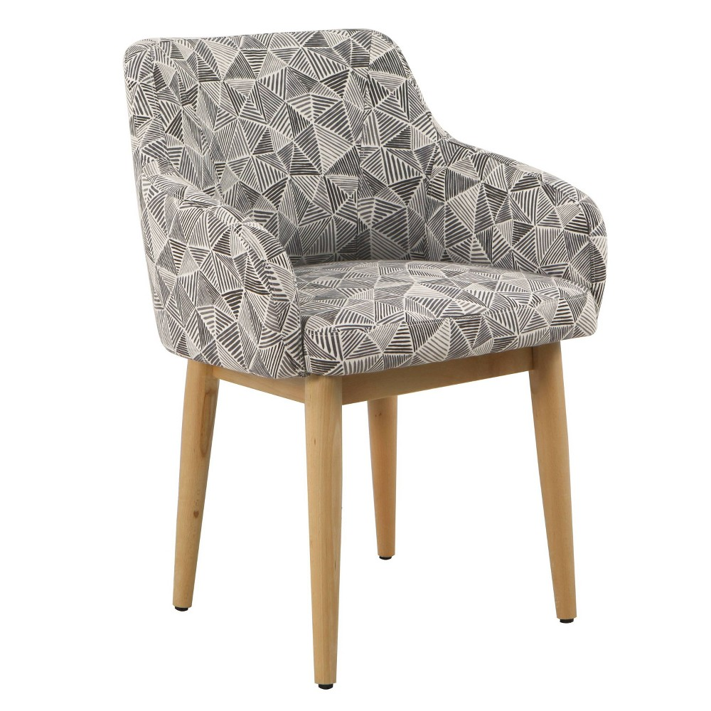 Milo Accent Chair Gray - HomePop was $189.99 now $142.49 (25.0% off)