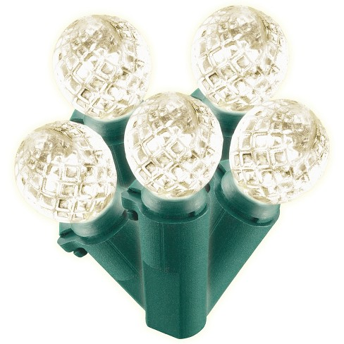 Philips 60ct Christmas LED Faceted Sphere String Lights Warm White GW - image 1 of 2