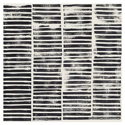 Thirstystone Coasters Set of 4 - Stripe Block Print