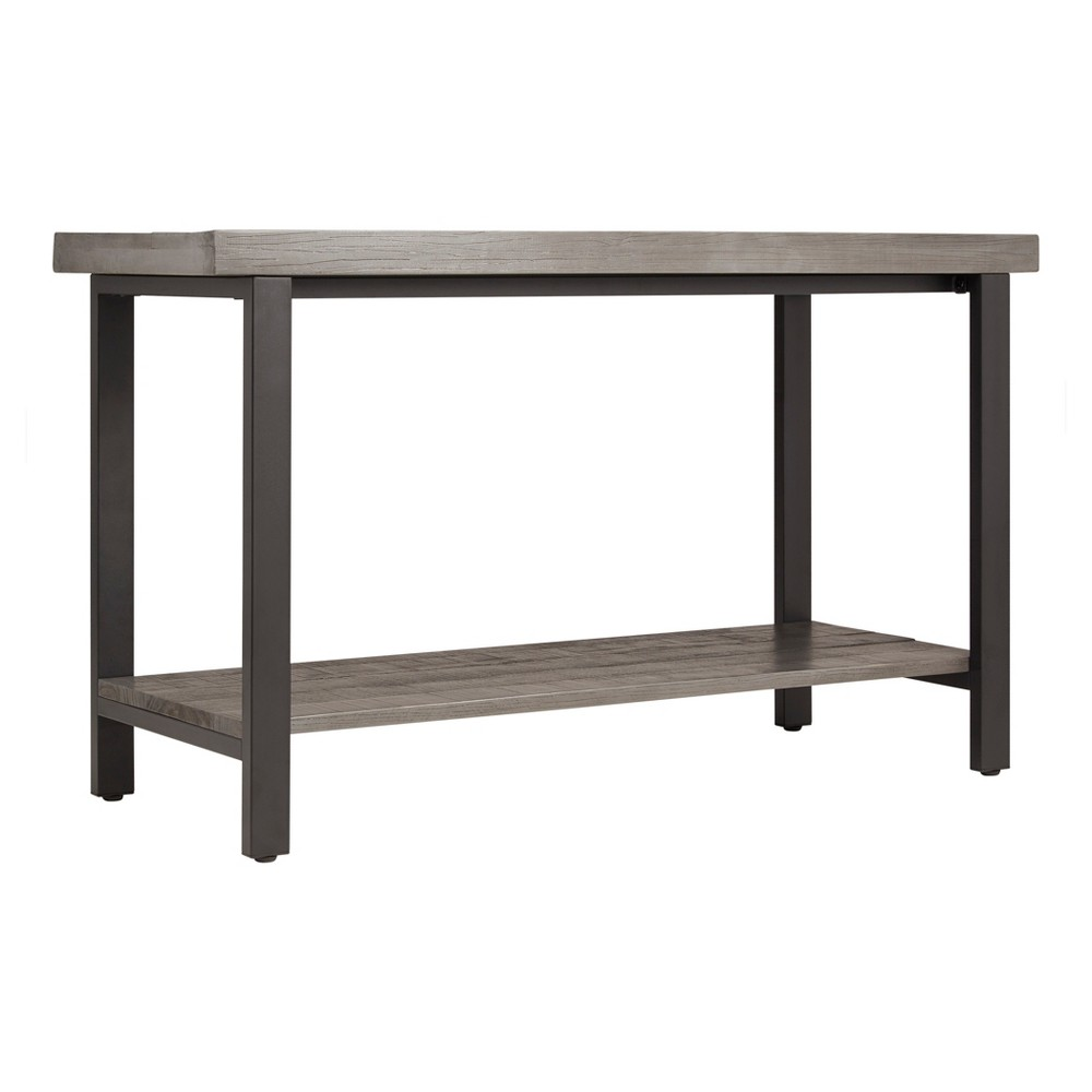 Hartlage TV Stand - Gray - Inspire Q