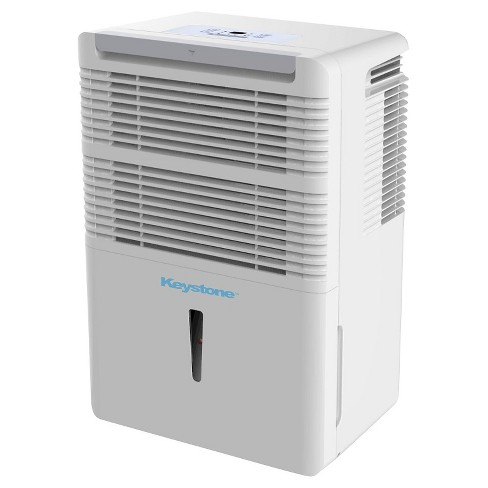 Keystone - Energy Star 70 Pint Dehumidifier with Built-In Pump - White - image 1 of 5