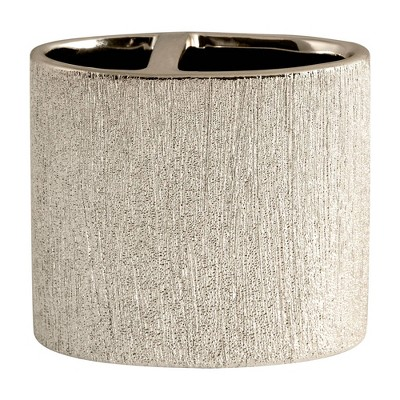 Shimmer Toothbrush Holder Gold - Allure Home Creations