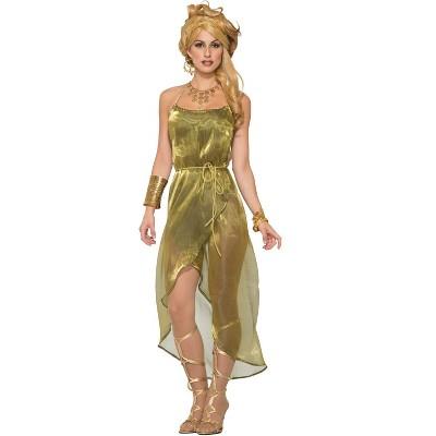 Forum Novelties Gold Toga Dress Adult Costume