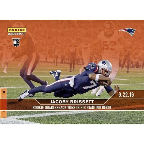 NFL New England Patriots Jacoby Brissett #51 2016 Panini Instant Base Card - image 1 of 1